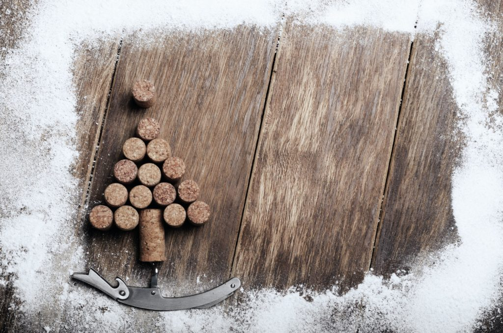Corks Christmas backround